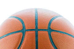 Closeup Basketball or Basket Ball isolate Royalty Free Stock Image