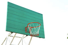 Closeup of basketball hoop Royalty Free Stock Image