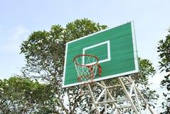 Closeup of basketball hoop Stock Image