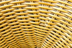 Closeup basketry wicker Stock Images