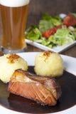 Bavarian roasted pork Stock Image