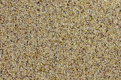 Closeup of beach sand Royalty Free Stock Image