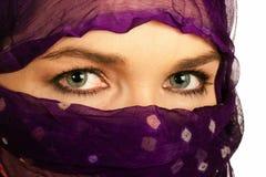 Closeup of a beautiful Asian woman Royalty Free Stock Images