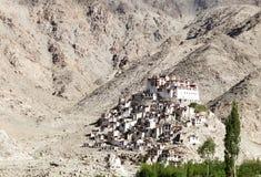 Closeup of a beautiful Chemday monastery Royalty Free Stock Photos