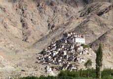 Closeup of a beautiful Chemrey Monastery Stock Photography