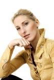 Closeup of beautiful girl Royalty Free Stock Images