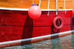 Closeup of a beautiful large sailing ship Royalty Free Stock Image