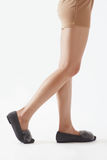 Closeup beautiful woman in the leg royalty free stock photos