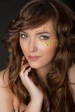 Closeup of beautiful young woman Royalty Free Stock Photo