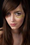 Closeup of beautiful young woman Stock Photo