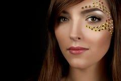 Closeup of beautiful young woman Stock Image