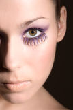 Closeup beauty Royalty Free Stock Photo