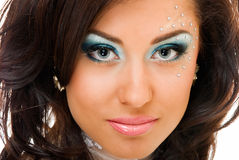 Closeup beauty Stock Photo
