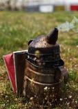 Closeup of a bee smoker Stock Photo