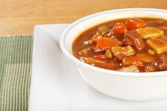 Closeup beef stew Royalty Free Stock Photography
