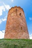 Closeup of Belarusian Kamyenyets Tower brickwork Stock Photo