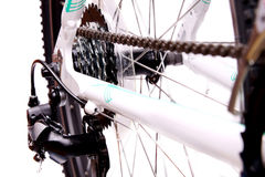Closeup of bicycle gear Royalty Free Stock Photography