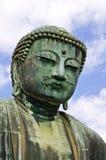 Closeup big buddha in japan. Royalty Free Stock Photos