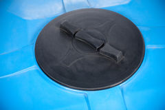 Closeup of big plastic container Royalty Free Stock Photos
