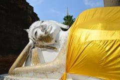 Closeup big statue buddha Stock Image