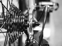 closeup bike gears Royalty Free Stock Image