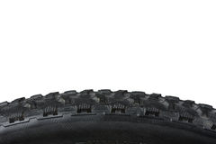Closeup of bike tire Royalty Free Stock Photography