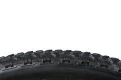 Closeup of bike tire Royalty Free Stock Photography