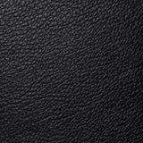 Closeup black leather texture background. Closeup black leather texture as a background motive stock images