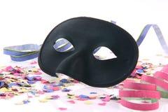 Closeup black mask Royalty Free Stock Image