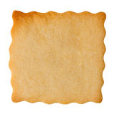Closeup of blank biscuit Stock Photos