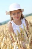 Closeup of blond little girl Stock Photography
