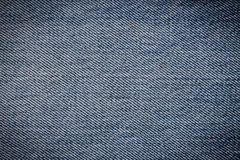 Closeup blue jean texture Stock Photos