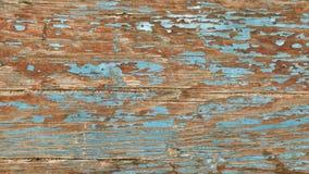 Closeup of blue old wood texture Royalty Free Stock Photos