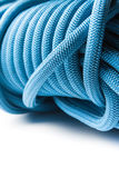 Closeup of blue rope Royalty Free Stock Photo