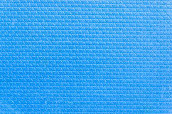 Closeup blue rubber texture Stock Photos