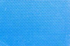 Closeup blue rubber texture Stock Photos