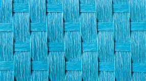 Blue straw cloth texture Royalty Free Stock Image