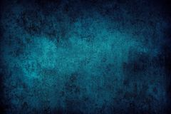 Blue concrete background. Closeup of blue textured background Stock Photography