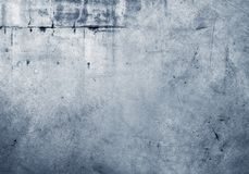 Blue concrete wall. Closeup of blue textured wall Royalty Free Stock Photos