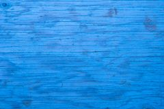 Closeup of blue wood background. Closeup of blue wood Textured background royalty free stock photography