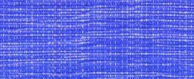 Closeup of blue woven fabric Stock Image