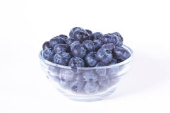 Closeup of blueberries Royalty Free Stock Images