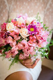 Closeup bouquet of roses Royalty Free Stock Photos