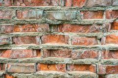 Closeup of a brick wall Stock Photography