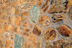 Closeup Brickwork Royalty Free Stock Images