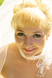 Closeup Bride Stock Image