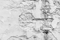 Closeup of a broken wall Stock Image