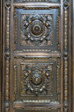 Bronze Door Panel Royalty Free Stock Photos