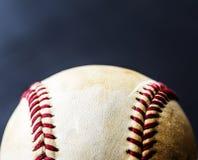 Closeup of brown baseball ball sport equipment Royalty Free Stock Photography