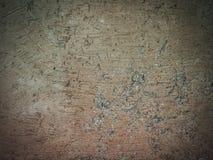 Closeup brown clay wall Stock Photography